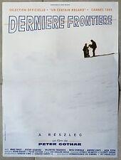 Affiche DERNIERE FRONTIERE Peter Gothar MARI NAGY 40x60cm *