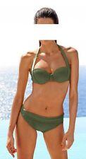 Heine Marke Softcup Bikini Khaki Cup B C D Gr. 34 36 38 40 42 44 UVP bedab7734c