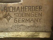 Rich A. Herder German Hunting Stag handle  Knife Soligen Germany