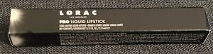 New  Lorac Alter Ego Pro BLACK CHERRY  Liquid Lip Stick .11oz Lipstick