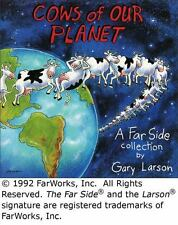 Far Side: Cows of Our Planet 17 by Gary Larson (1992, Paperback)