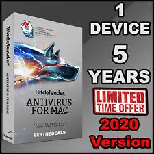 BITDEFENDER ANTIVIRUS FOR MAC - 5 YEARS FOR 1 DEVICE - DOWNLOAD
