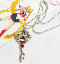 #cos086 - Card Captor Sakura-cadena collar Necklace-cosplay-Star Key