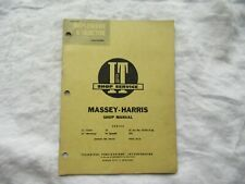 1955 Massey Harris 21 33 23 44 55 555 Tractor Shop Service Manual