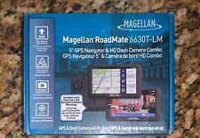 "Magellan RoadMate 6630T-LM 5"" GPS Navigator & HD Dash Camera Combo Sealed NEW"
