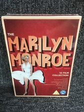 Marilyn Monroe: The 12 Film Collection (UK Exclusive) Dvd Box Set, New Sealed.