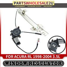 Power Window Regulator W/ Motor for Acura RL 1998 1999 00-2004 Rear Left Driver