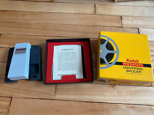 Kodak presstape universal splicer for movie film editing - 8mm / Super 8 / 16mm