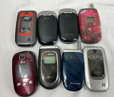 Lot of 8 Cellphones - Parts or Repair - Lg Flip Phone - Clean Imei Free Shipping