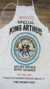 Vtg King Arthur Flour Advertising Canvas Apron Made in USA