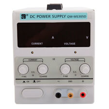 30V 5A DC 110V Power Supply|Lab Grade Adjustable Precision|Dual Digital+US Cord