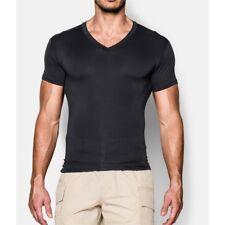 Under Armour Men Tactical Heatgear Compression V-neck Short Sleeve T-shirt