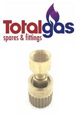 """FORKLIFT LPG GAS FILLER  BOTTLE  COUPLING 1&1/4"""" Acme TO  1/4"""" NPT F"""