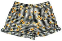 Girls Baby Toddler Floral Houndstooth Check Summer Shorts 6 Months to 4 Years