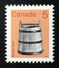 Canada #920a CBN CP MNH, Bucket Artifact Definitive Stamp 1984