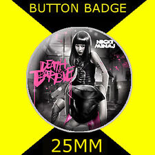 NICKI MINAJ DEATH TO BARBIE-BUTTON BADGE 25MM/1 D PIN- GREAT GIFT FOR FAN #2