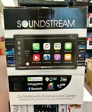 Soundstream VRCP-65 2-DIN Bluetooth DVD/CD/AM/FM Car Stereo w/ Apple Car Play