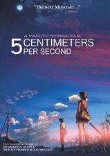 5 CENTIMETERS PER SECOND - DVD - Region 1 - Sealed