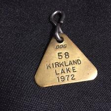 Kirkland Lake Dog Tag 1972