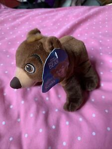"Koda Brother Bear Disney plush stuffed animal 7"" Lovey 2003 Hasbro With Tag"