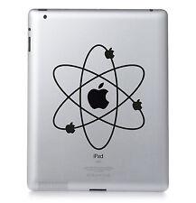 APPLE ATOM. BBT Apple iPad Mac Macbook Sticker Vinyl decal. Custom colour