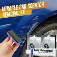 Car Scratch Remover Repair Paint Body Compound Paste Clear Kit Auto Accessories~