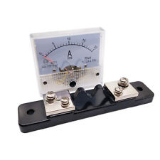 Us Stock Analog Panel Amp Current Ammeter Meter Gauge 85c1 0 20a Dc Amp Shunt