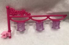 Barbie doll  Glam Vacation Dollhouse 2009 Kitchen Island Light Replacement Part