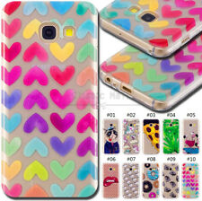 For Samsung Galaxy A5(2017) TPU Silicone Rubber Protective Soft Case Cover Skin