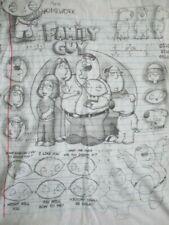 FAMILY GUY Cast Comic Strip STEWIE BRIAN PETER LOIS MEG EVIL MONKEY (LG) T-Shirt