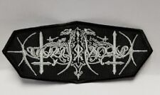 nocturnal mortum  EMBROIDERED PATCH