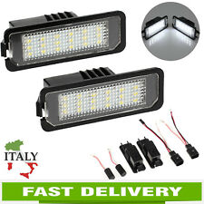 Numero LED Luce targa luce per VW GOLF MK4 MK5 MK6 Passat CC Scirocco Error Free