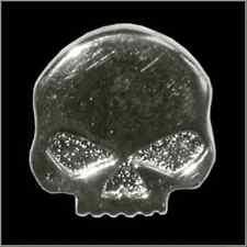 Half Skull Pin Motorcycle Biker Lapel Hat Tie