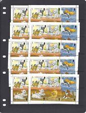 GIBRALTAR 1996 DOG souvenir sheets (X10 copies) MNH