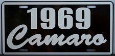 1969 69 CAMARO LICENSE PLATE CHEVY CHEVROLET SS SUPER SPORT Z-28 302 350 396 427