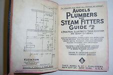 Audels Plumbers & Steam Fitters Guide #2. Frank Graham, Thomas Emery. Illustr.
