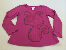 Naartjie 7 Raspberry Pink Puppy Dog Swing Top Shirt READ FLAW
