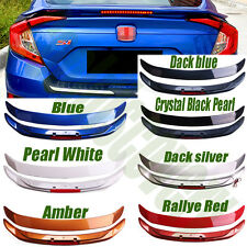 Rear Roof Spoiler Wing With Taillight For Honda Civic RS TURBO Style 2016 7Color