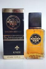 new KNIZE TEN Golden Edition Toilet Water EDT Natural Spray 125ml 4.3 fl.oz NIB