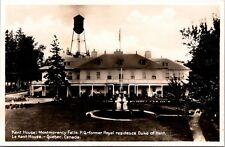Kent House Montmorency Falls Duke of Kent Quebec Canada RPPC