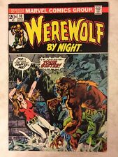 Marvel Comics Werewolf by Night #10 Bronze Age 1973 Gil Kane
