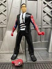"Marvel Legends Hasbro Spider-Man 3 Movie Peter Parker Quick Change 5"" Figure"