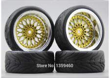 Rc Car 1/10 Wheels Tires Onroad For Tamiya tt01 tt01e tt02 Hpi Rs4 Traxxas 4tec