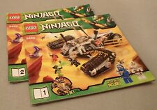 Lego NINJAGO Instruction Manual Only #9449 Ultra Sonic Raider Bks. 1 & 2