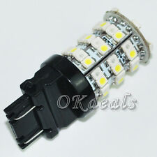 TOP Sales Shines 12V 3157 3457 3057 60 SMD LED Red White Turn Signal  Light Bulb
