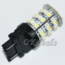 TOP Sales Shines 12V 3157 3457 3057 60 SMD LED Red White Turn Signal  Light Bulb