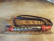 Vintage Elwood 1601 Voltage Tester With Case