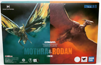 Mothra & Rodan Set S.H MonsterArts Godzilla King of the Monsters Bandai Tamashii