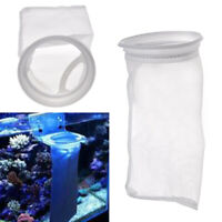 200 Micron 5 inch Fish Aquarium Marine Sump Felt Pre Filter Sock Bag USA