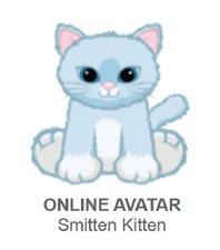 Webkinz Smitten Kitten *Code Only*